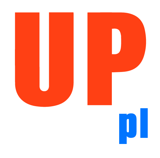 Logo UPstage.pl - alt w naglowku